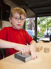 Ryan sanding blocks