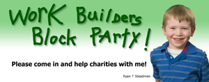 Work Builders Block Party banner