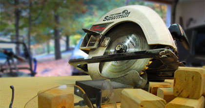 Tools of the trade - circular saw