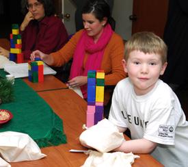 Ryan at SOS Shelter board meeting
